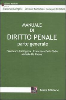 Promoartpalermo.it Manuale di diritto penale. Parte generale Image