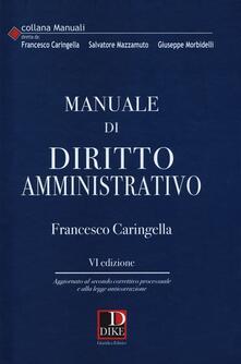 Mercatinidinataletorino.it Manuale di diritto amministrativo Image