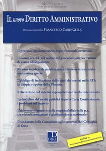 Il nuovo diritto amministrativo (2012). Vol. 4
