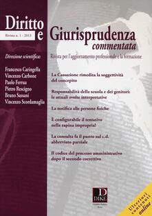 Diritto e giurisprudenza commentata (2013). Vol. 1.pdf