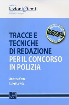 Filippodegasperi.it Tracce e tecniche di redazione per il concorso in polizia Image