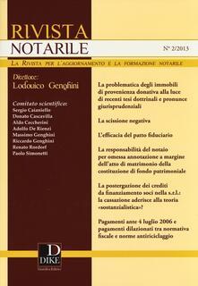 Warholgenova.it Rivista notarile (2013). Vol. 2 Image