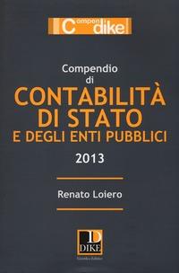 Compendio di contabilità di Stato e degli enti pubblici - Loiero Renato - wuz.it