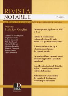 Winniearcher.com Rivista notarile (2013). Vol. 4 Image