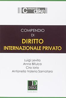 Winniearcher.com Compendio di diritto internazionale privato 2015 Image