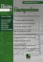 Diritto e giurisprudenza commentata (2015). Vol. 4