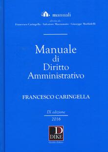 Milanospringparade.it Manuale di diritto amministrativo Image
