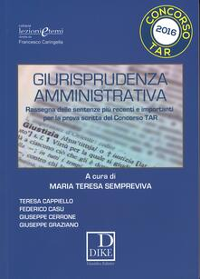 Giurisprudenza amministrativa