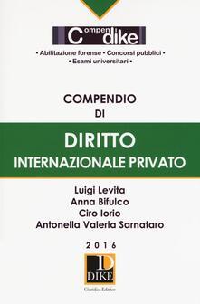 Librisulladiversita.it Compendio di diritto internazionale privato Image