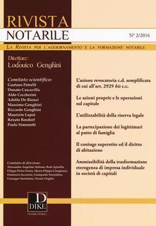 Antondemarirreguera.es Rivista notarile (2016). Vol. 2 Image