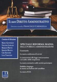Radiospeed.it Il nuovo diritto amministrativo (2016). Vol. 5 Image
