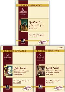Quid iuris? Le risposte a 100 quesiti di interesse notarile: Mortis causa-Inter vivos-Commerciale.pdf