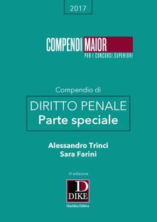 Listadelpopolo.it Compendio di diritto penale. Parte speciale Image