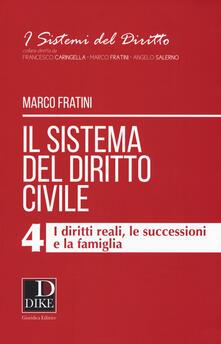 Voluntariadobaleares2014.es Il sistema del diritto civile. Vol. 4: diritti reali, le successioni e la famiglia, I. Image