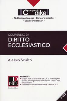 Equilibrifestival.it Compendio di diritto ecclesiastico Image
