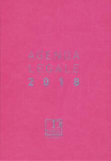 Antondemarirreguera.es Agenda legale d'udienza 2018. Ediz. rosa Image