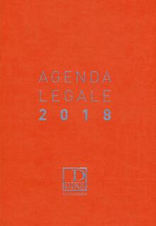 Atomicabionda-ilfilm.it Agenda legale d'udienza 2018. Ediz. arancione Image