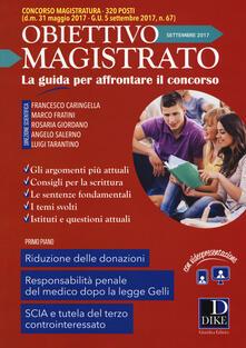 Mercatinidinataletorino.it Obiettivo magistrato. La guida per affrontare il concorso (2017). Vol. 7: Settembre. Image
