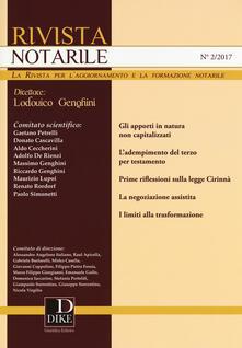 Amatigota.it Rivista notarile (2017). Vol. 2 Image