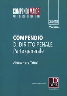 Cocktaillab.it Compendio di diritto penale. Parte generale. Maior. Con Contenuto digitale per download e accesso on line Image
