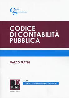 Ascotcamogli.it Codice di contabilità pubblica Image