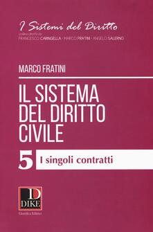 Daddyswing.es Il sistema del diritto civile. Vol. 5: singoli contratti, I. Image