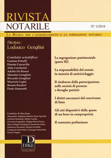 Antondemarirreguera.es Rivista notarile (2018). Vol. 1 Image