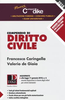 Capturtokyoedition.it Compendio di diritto civile. Minor Image