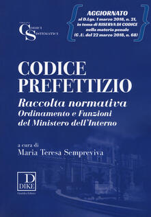 Codice prefettizio. Con aggiornamento online.pdf