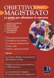 Listadelpopolo.it Obiettivo magistrato. La guida per affrontare il concorso (2018). Vol. 4: Aprile. Image