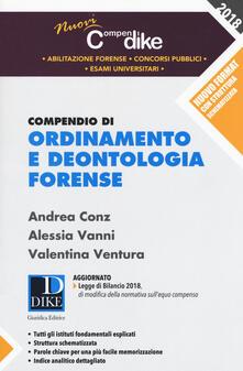 Squillogame.it Compendio di ordinamento e deontologia forense Image