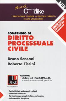 Voluntariadobaleares2014.es Compendio di diritto processuale civile Image
