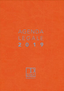 Antondemarirreguera.es Agenda legale d'udienza 2019. Ediz. arancione Image