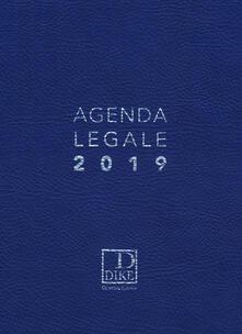 Scacciamoli.it Agenda legale d'udienza 2019. Ediz. blu Image