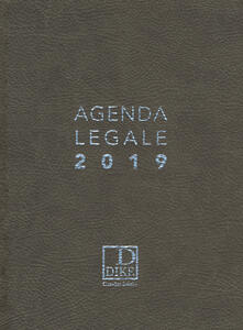 Antondemarirreguera.es Agenda legale d'udienza 2019. Ediz. grigia Image