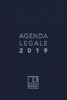 Premioquesti.it Agenda legale 2019. Ediz. blu Image