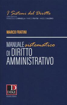 Promoartpalermo.it Manuale sistematico di diritto amministrativo Image