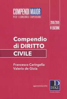 Letterarioprimopiano.it Compendio di diritto civile Image
