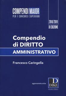Listadelpopolo.it Compendio di diritto amministrativo. Maior. Con Contenuto digitale per download e accesso on line Image