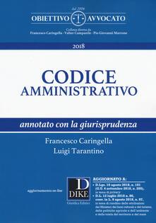 Radiosenisenews.it Codice amministrativo annotato con la giurisprudenza. Con aggiornamento online Image