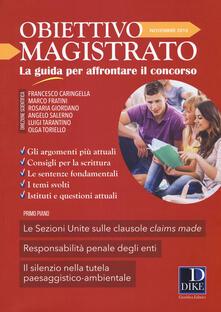 Mercatinidinataletorino.it Obiettivo magistrato. La guida per affrontare il concorso (2018). Vol. 11: Novembre. Image