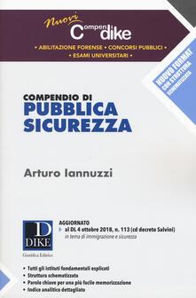 Premioquesti.it Compendio di pubblica sicurezza. Con espansione online Image