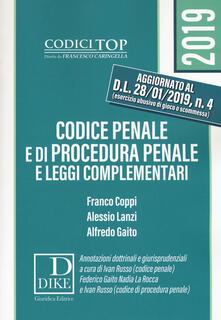 Warholgenova.it Codice penale e di procedura penale e leggi complementari Image