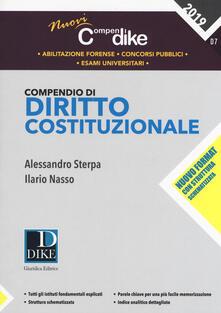 Promoartpalermo.it Compendio di diritto costituzionale Image