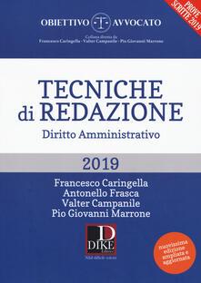 Listadelpopolo.it Tecniche di redazione. Diritto amministrativo. Con aggiornamento online Image