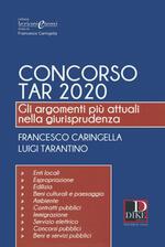 Concorso TAR 2020. Gli argomenti più attuali nella giurisprudenza