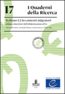 Premioquesti.it Italiano L2 in contesti migratori. Sillabo e descrittori dall'alfabetizzazione all'A1 Image
