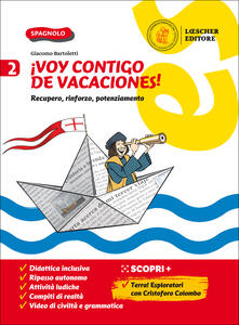 ¡Voy contigo de vacaciones! Recupero, rinforzo, potenziamento. Per la Scuola media. Vol. 2.pdf
