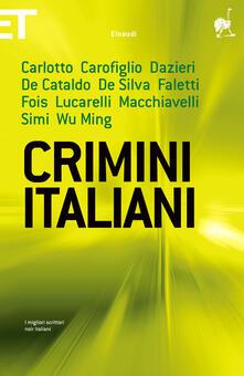 Crimini italiani - Giancarlo De Cataldo - ebook