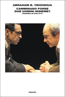 Camminano forse due uomini insieme? Dramma in due atti - Alessandra Shomroni,Abraham B. Yehoshua - ebook